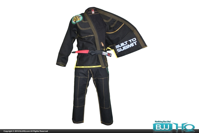 Break Point BTS Deluxe Black Gi with 2 Pairs of Pants